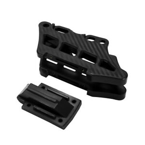 Motorcycle Carbon Fiber Chain Guide Box Decorative Protective Cover Universal