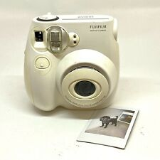 FUJIFILM Instax Mini 7S White Instant Film Camera Photography