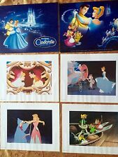 Artwork from Walt Disney Special Edition Cinderella Set of 4 Lithographs 14X11