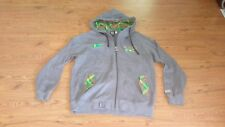 Mens Designer LRG Roots and Equipment Brotherhood Gray Green Plaid Zip Up Hoodie