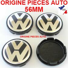 4X CENTRES DE ROUE VW caches moyeu 56mm emblème VOLKSWAGEN