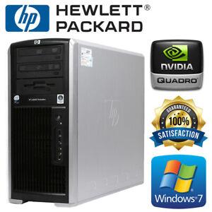 HP XW8600 2x Quad Core E5450 3.00Ghz 32GB DDR2 RAM 500GB HDD Desktop Tower PC