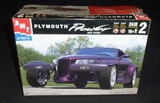 AMT Ertl Model Kit Plymouth Prowler With Trailer 1:25 Scale Kit# 8588