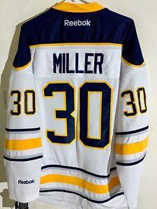 Reebok Premier NHL Jersey Buffalo Sabres Ryan Miller White sz 2X