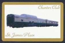 Charter Club St James Place train playing card single swap ace diamonds - 1 card