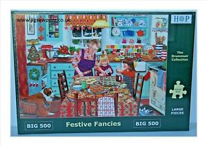 Festive Fancies New Release Big 500 Drummuir House of Puzzles Jigsaw Puzzle