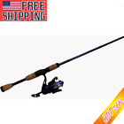Spinning Reel And Fishing Rod Combo Sports Outdoor 6 ft 6 in Medium Action NEW