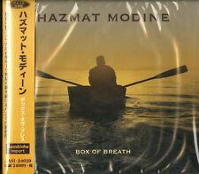 HAZMAT MODINE-BOX OF BREATH-IMPORT CD WITH JAPAN OBI F30