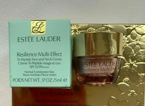 ESTEE LAUDER Resilience Multi-Effect Tri-Peptide Face and Neck Creme SPF15 5ml
