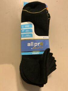 All pro Goldtoe brand Aquafx Women's No Show Socks 6 Pairs EXTEN. Shoe size 8-12