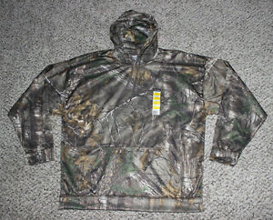 NEW Realtree Xtra Camo Hoodie Men's Size XL Hooded Hunting Sweatshirt