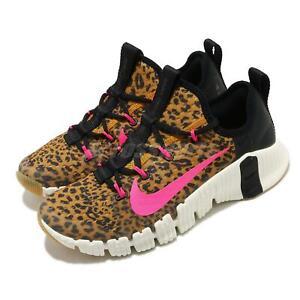 Nike Wmns Free Metcon 3 Leopard Black Pink Blast Women Training Shoes CJ6314-096