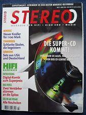 STEREO 3/96  MARANTZ PM 55SE,PIONEER A 604 R,ROTEL RA 945,SONY TA FA 3 ES,YAMAHA