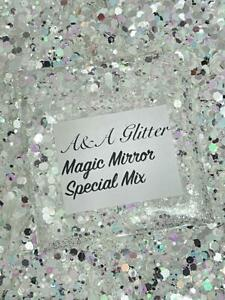 Nail Art Glitter (Magic Mirror) Chunky Cosmetic Glitter 5g Bag