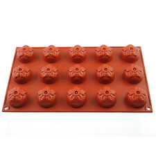 Kitchen Silicone Flower Baking Cake Mold Chocolate Cookie Candy Jelly Ice Mould