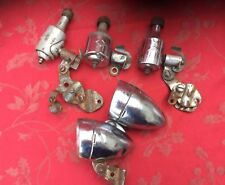 Job Lot Miller Dynamo And A Couple Of Vintage Lights For Spares Repair