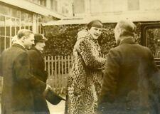 Nuits Saint Georges Mrs Pierre-Étienne Flandin Chevaliers du Tastevin Photo 1935