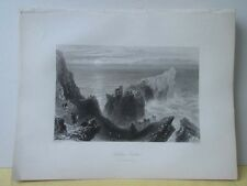 Vintage Print,KENBANE CASTLE,Scenery of Ireland,Bartlett