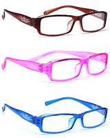 Women READING GLASSES Lens 0.5 +1.0 +2.0 +3.0 +3.5 Eyeglasses Slim Frame Design