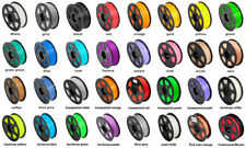 3D Printer Multi-Colored PLA ABS WOOD PETG Filament 1Kg spool, 2.2 lbs. 1.75mm