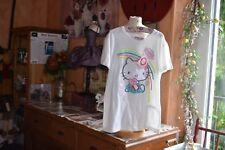 tee shirt neuf victoria couture blanc s ou 16 ans