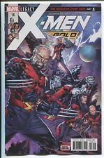 X-MEN: GOLD #16 - KEN LASHLEY COVER - LAN MEDINA ART - MARVEL COMICS/2017
