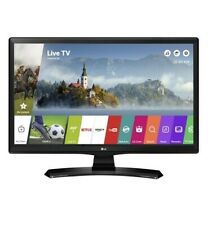 "Smart TV LG 24"" LED 24MT49S HD READY MONITOR TV DVB-T2 USB WebOS Wi Fi NERO"