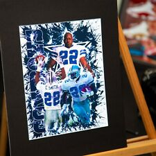 Dallas Cowboys - Emmitt Smith #22 - Original Artwork - Contemporary Art