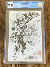 Uncanny X-Men #543 (2011) 1:52 Larroca Sketch Variant CGC 9.8 Marvel Comics RARE