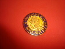 The First GREAT SEAL of The United States 1782 Challenge Coin, Golf Ball Marker