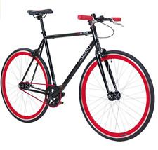 AVOXY.de Fixie Singlespeed Bike 28 Zoll 700C Blade 5 Farben Rot Schwarz Retro