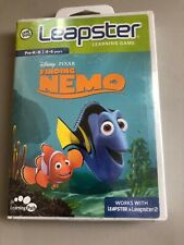 Leap Frog Leapster Learning Disney Pixar Finding Nemo Ages 4-6 Pre-K To K