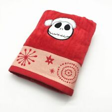 Cotton Embroidery Santa Towel Soft Red Christmas Gift Home Textile Face 41x66cm