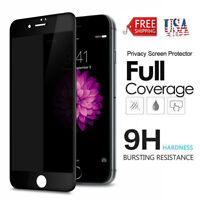 For iPhone 7 6s 6 8 Plus Tempered Glass Privacy Screen Protector Full Coverage A