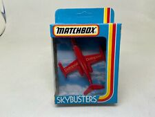 MATCHBOX-SKYBUSTERS-SB-1 LEAR JET-DATAPOST- UNPUNCHED IN BOX-LOOK