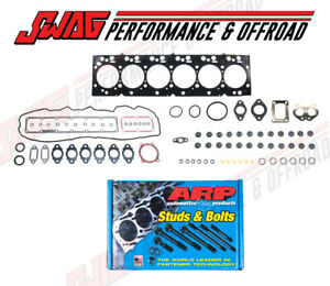 Cylinder Head Gasket Set & ARP Studs For 07-16 Dodge Ram Cummins 6.7 6.7L Diesel
