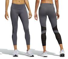 adidas Women's How We Do 7/8 Light Mesh Leggings Gym Running Active Sports S M L