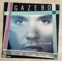 MAXI 45 tours RPM GAZEBO Vinyle I LIKE CHOPIN Disco mix - CARRERE 8254