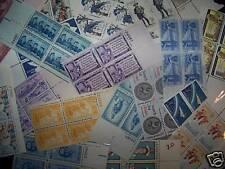 1000 MNH plateblocks-1 Cent To 8 centers