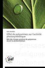 Effet de Polyamines Sur l'Activite Photosynthetique by Hamdani Saber (2014,...