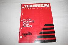 Tecumseh Technician's Handbook, 4 Cycle Overhead Valve Engines Book