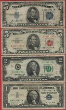 US Currency Lot - Old Paper Money - Various Banknotes - Lot#CU17
