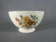 Ancien petit bol en céramique décor de fleurs french antique bowl