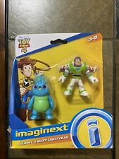 Imaginext - Disney - Pixar - Toy Story 4 - Bunny & Buzz Lightyear - NEW