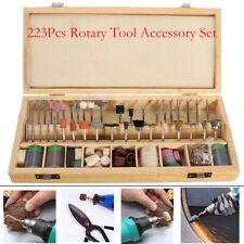 Coffret accessoires pour Mini outil rotatif type Dremel 222 pièces Multi Tool