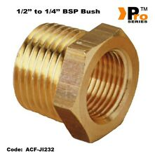 1/2'' to 1/4'' Brass Bush- Air line Fitting-Air Compressor Fitting  007