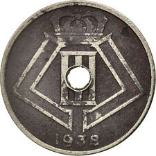 Monnaies, Belgique, 25 Centimes, 1938, TB+, Nickel-brass, KM:115.1 #78778