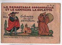 Le redoutable Coucouraille et le capitaine La riflette. Fanfan la Tulipe 1942
