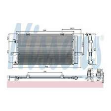 Fits MG ZT-T 190 Genuine OE Quality Nissens A/C Air Con Condenser