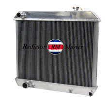 Aluminum Radiator For Cadillac Deville Eldorado Fleetwood  Series 62 Starfire